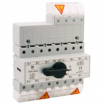 Przełącznik sieć-agregat 160A 4P PRZK-4160\W02 1-0-2 Z rączką Spamel