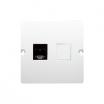 Gniazdo telefoniczne Kontakt-Simon Basic BMTF1.02/11 pojedyncze RJ11 białe