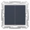 Łącznik świecznikowy Schneider Sedna SDN0300470 hermetyczny IP44 grafitowy