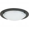 Plafon lampa sufitowa / ścienna Rabalux Ufo 1x60W E27 czarny/biały 5103