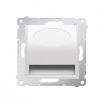 Oprawa oświetleniowa LED Kontakt-Simon 54 DOS.01/11 światło białe ciepłe 230V AC biała