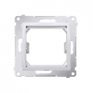 Adapter Kontakt-Simon 54 DA45.01/11 przejściówka na osprzęt standardu 45x45mm biały