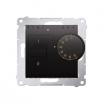 Regulator temperatury Kontakt-Simon 54 DRT10W.02/48 z czujnikiem wewnętrznym antracyt