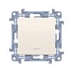 Przycisk pojedynczy Kontakt-Simon 10 CP1L.01/41 bez piktogramu z podświetleniem LED kremowy