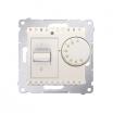 Regulator temperatury Kontakt-Simon 54 DRT10W.02/41 z czujnikiem wewnętrznym kremowy