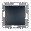 Łącznik pojedynczy Schneider Asfora EPH0100271 hermetyczny IP44 z ramką antracyt