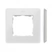 Ramka pojedyncza Kontakt-Simon 82 8200610-030 Detail Original Mono podstawa szara ramka biała