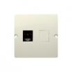 Gniazdo komputerowe Kontakt-Simon Basic BMF51.02/12 pojedyncze 1xRJ45 kategoria 5e beżowe