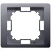 Ramka pojedyncza Kontakt-Simon Basic Neos BMRC1/43 srebrna