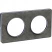Ramka podwójna Schneider Odace Touch S53P804V ardoise stone