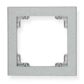Ramka pojedyncza Karlik Deco 7DR-1 srebrny metalik