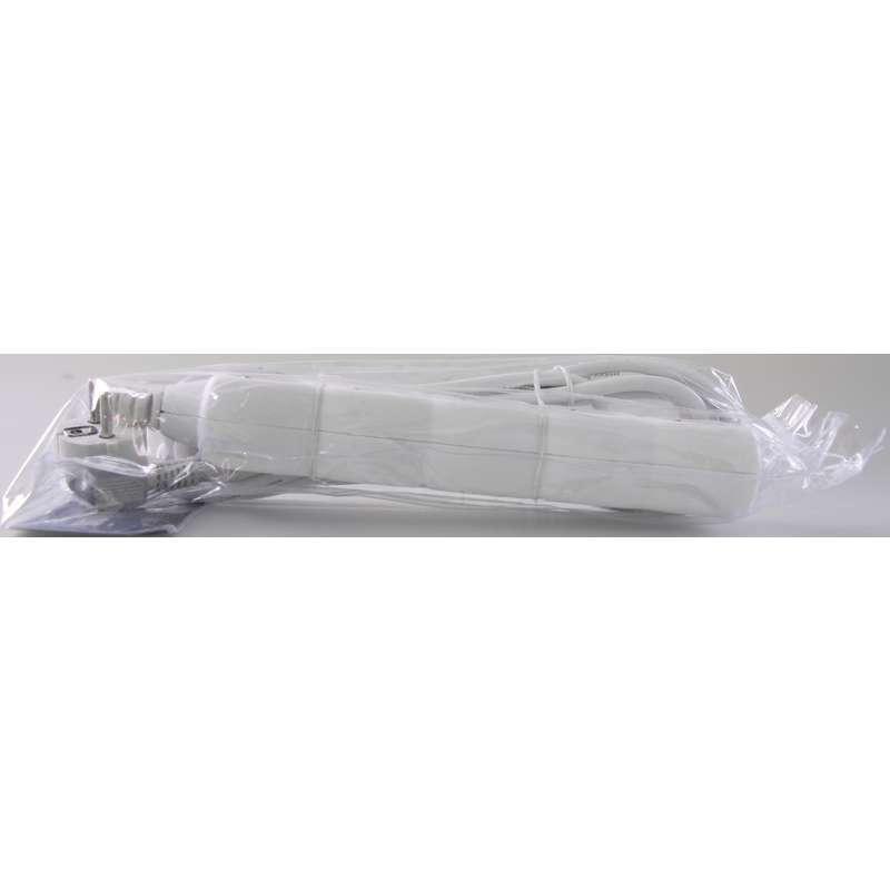 Przedłużacz 5m 5-gniazd z/u 10A biały P0515 1902050500 Emos